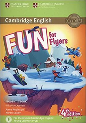 خرید کتاب انگليسی Fun for Flyers Students Book 4th+CD