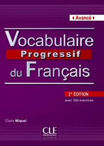 خرید کتاب فرانسه Vocabulaire progressif - avance + CD - 2eme edition