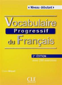 خرید کتاب فرانسه Vocabulaire progressif - debutant + CD - 2eme edition