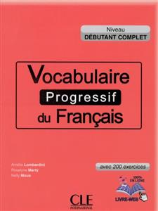 خرید کتاب فرانسه Vocabulaire progressif du français - debutant complet + CD