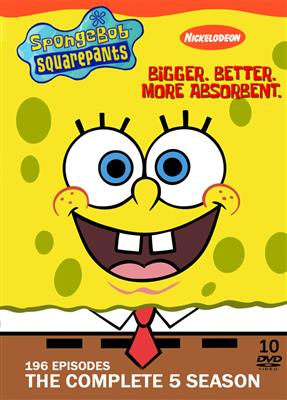 خرید Spongebob The Complete 5 Seasons
